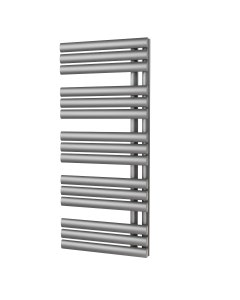 Trade Direct Saturn Triple Towel Rail, Silver, 1120x500mm