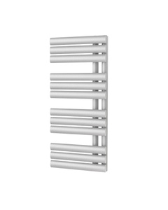Trade Direct Saturn Triple Towel Rail, White, 880x500mm