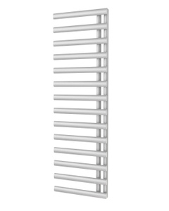 Trade Direct Saturn Offset Towel Rail, White, 1595x500mm