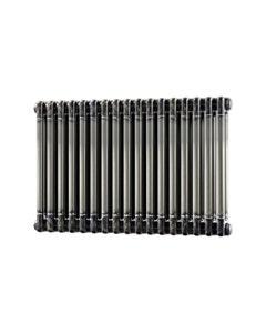 Trade Direct 2 Column Radiator, Raw Metal, 500mm x 768mm