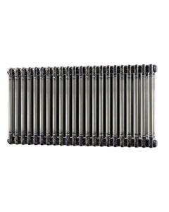 Trade Direct 2 Column Radiator, Raw Metal, 500mm x 988mm