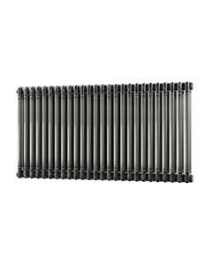 Trade Direct 2 Column Radiator, Raw Metal, 600mm x 1164mm