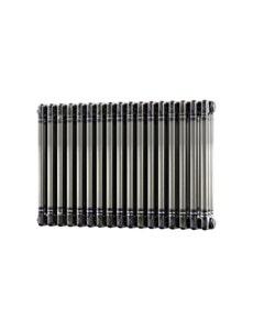 Trade Direct 3 Column Radiator, Raw Metal, 500mm x 777mm