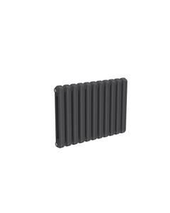 Reina Coneva Modern Column Radiator, Anthracite, 550mm x 790mm - Double Panel