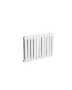 Reina Coneva Modern Column Radiator, White, 550mm x 790mm - Double Panel