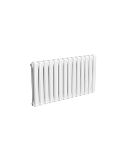 Reina Coneva Modern Column Radiator, White, 550mm x 1000mm - Double Panel