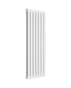 Reina Coneva Modern Column Radiator, White, 1500mm x 510mm - Double Panel
