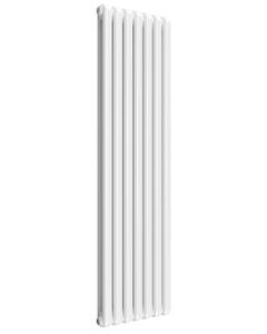 Reina Coneva Modern Column Radiator, White, 1800mm x 510mm - Double Panel