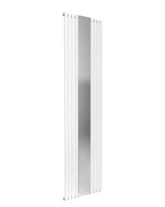 Reina Reflect Designer Radiator, White, 1800mm x 445mm