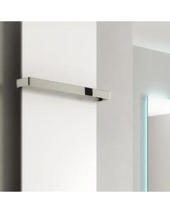 Reina Slimline Towel Bar, Chrome, 400mm