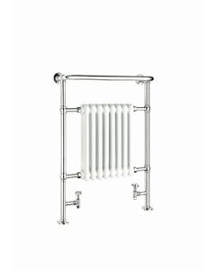 Reina Victoria Towel Rail, White, 960x675mm
