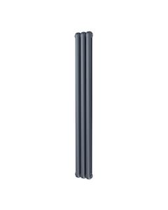 Trade Direct Contour Column Radiator, Anthracite, 1800mm x 229mm