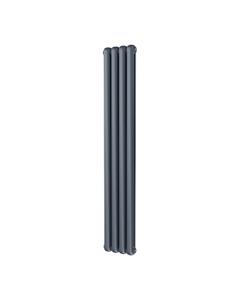 Trade Direct Contour Column Radiator, Anthracite, 1800mm x 298mm