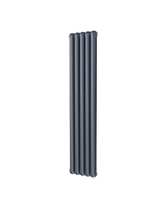 Trade Direct Contour Column Radiator, Anthracite, 1800mm x 368mm