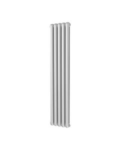 Trade Direct Contour Column Radiator, White, 1800mm x 368mm