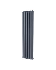 Trade Direct Contour Column Radiator, Anthracite, 1800mm x 437mm