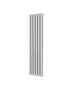 Trade Direct Contour Column Radiator, White, 1800mm x 437mm