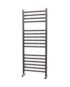 Trade Direct Towel Rail - 22mm, Stainless Steel Straight, 1000x400mm (Electric)