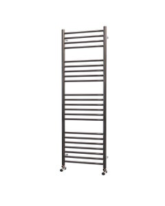 Trade Direct Towel Rail - 22mm, Stainless Steel Straight, 1400x400mm (Electric)