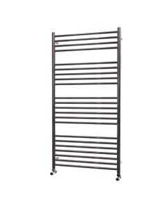 Trade Direct Towel Rail - 22mm, Stainless Steel Straight, 1400x600mm