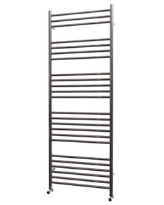 Trade Direct Towel Rail - 22mm, Stainless Steel Straight, 1600x600mm