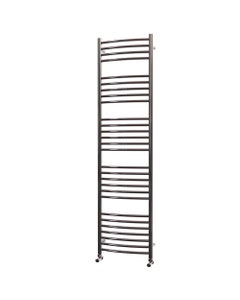 Trade Direct Towel Rail - 22mm, Stainless Steel Curved, 1800x400mm