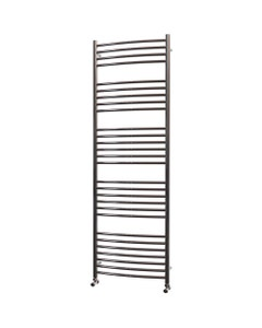 Trade Direct Towel Rail - 22mm, Stainless Steel Curved, 1800x500mm