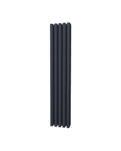 Trade Direct Quad Aluminium Column Radiator, Anthracite, 1800mm x 320mm