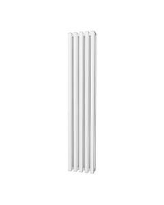 Trade Direct Quad Aluminium Column Radiator, White, 1800mm x 320mm