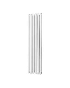 Trade Direct Quad Aluminium Column Radiator, White, 1800mm x 390mm