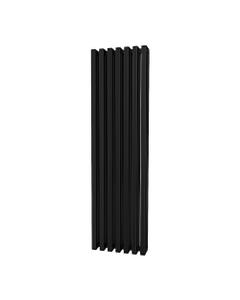 Trade Direct Quad Aluminium Column Radiator, Black, 1800mm x 460mm