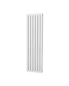 Trade Direct Quad Aluminium Column Radiator, White, 1800mm x 460mm