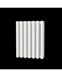 Trade Direct Quad Aluminium Column Radiator, White, 600mm x 458mm