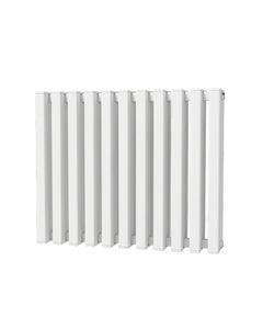 Trade Direct Quad Aluminium Column Radiator, White, 600mm x 730mm