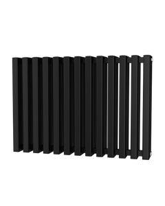 Trade Direct Quad Aluminium Column Radiator, Black, 600mm x 886mm
