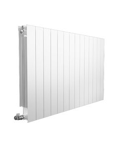 Supplies4Heat Saxon Aluminium Radiator, White, 440mm x 420mm