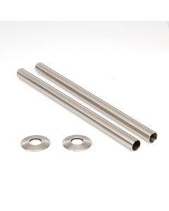 West Satin Nickel Sleeving Kit 300mm (pair)