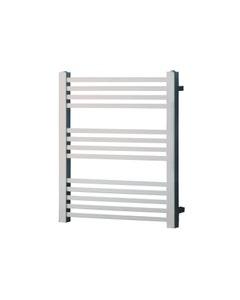 Pisa Towel Rail - 25mm, Chrome Square, 800x600mm