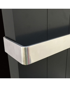 DQ Vela Polished Aluminium Towel Bar 488mm