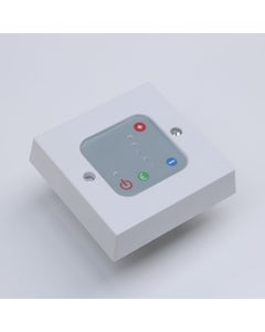 West Electric Element Thermostatic Control Unit - White