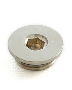 West 1/2 inch flat blanking plug