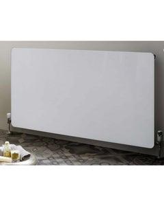 Towelrads Frame Glass Designer Radiator, White 600mm x 1000mm