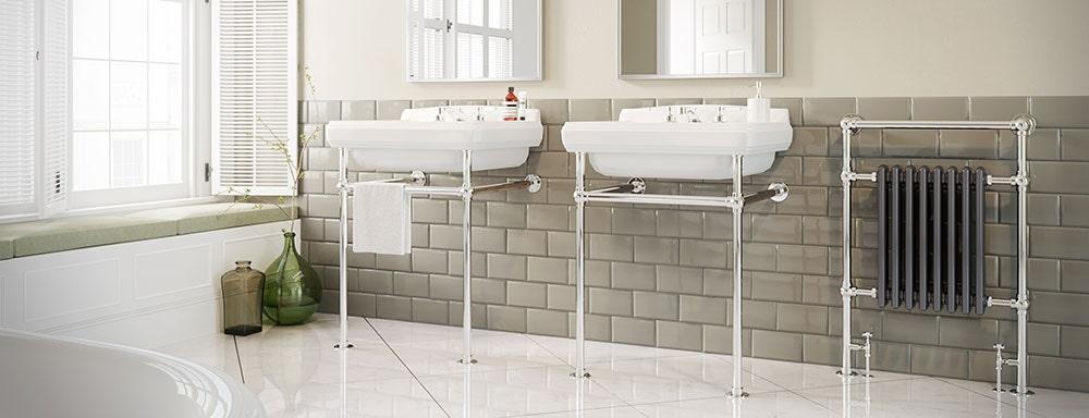 traditional bathroom radiators