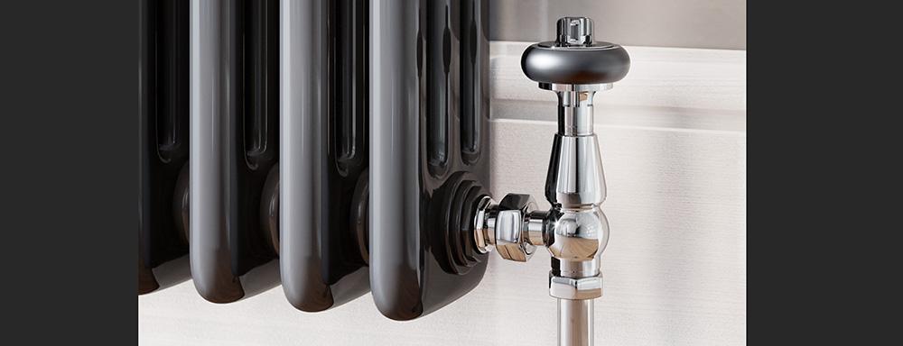 chrome traditional valves