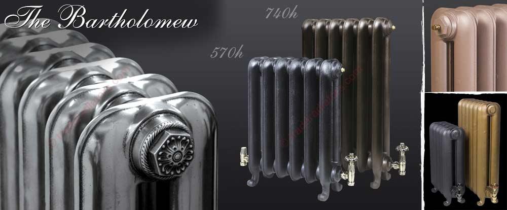 Bartholomew cast iron radiator