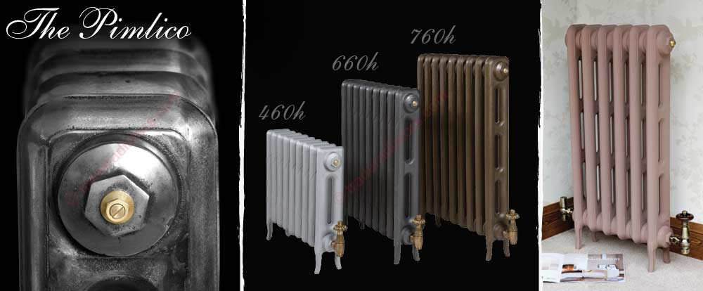 pimlico cast iron radiator